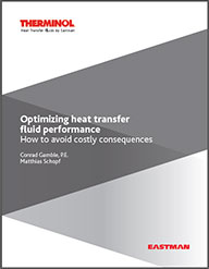 Optimizing heat transfer fluid performance